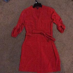 Red express portofino dress